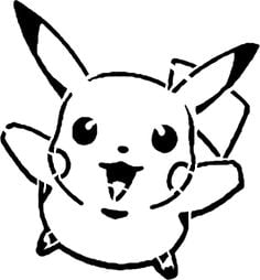 image regarding Pokemon Stencils Printable identified as How in the direction of Carve Pokemon Pumpkins - Unbelievable Free of charge Stencils